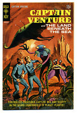 Captain Venture & the Land Beneath the Sea #2 (Gold Key) FN7.2