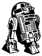 R2D2 Star Wars Empire The Force Awakens Vinyl Decal Sticker Car Bumper Window