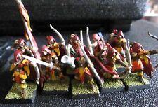 Warhammer Fantasy Wood Elves Glade Guard regiment painted