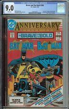 BRAVE AND THE BOLD #200 CGC 9.0 1ST APP KATANA HALO GEOFORCE BATMAN OUTSIDERS