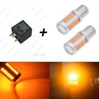 Luces intermitente LED Canbus, BAU15S, PY21W + Relé, evita el parpadeo rapido