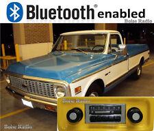 Slidebar Radio Stereo & Bluetooth Kit 1967-1972 Chevy Truck by Custom Autosound