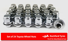 Original Style Wheel Nuts (24) 12x1.5 Nuts For Toyota Land Cruiser [j70] 84-16