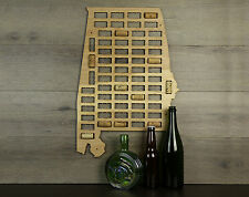 Wine Cork Traps Alabama Wooden Wine Cork Organizer Holder Wall Decoration
