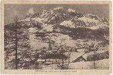 CORTINA VERSO LE TOFANE (BELLUNO) 1928