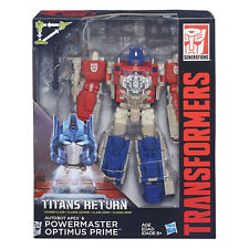 Transformers Generations AUTOBOT APEX& POWERMASTER Class L OPTIMUS PRIME Gift