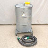 Ruwac ArtNr 69809 05226-9830-0 66-Gallon Bulk Separator w/ Dolly and Casters