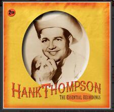 HANK THOMPSON  *  40 Greatest Hits  *  NEW 2-CD BOX SET  *  All Original Songs