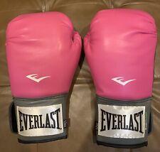 Brand New Nwot Everlast EverFresh Women Boxing Gloves Pro Style Train Pink 12oz