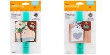 "Cricut Cuttlebug  5"" x 7"" embossing folders WOVEN DIAMONDS & MODERN VINES New"