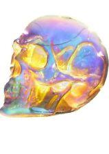 Puckator Iridescent Skull Glass Decorative LED Light