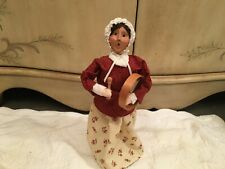 New ListingByers Choice Williamsburg Woman With Drum 2004 Caroler