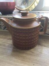 Vintage Hornsea Pottery SAFFRON TEAPOT Retro 1976, by John Clappison