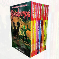 New Goosebumps 10 Book Collection Classic Cover by R.L.Stine,Horror Land Classic