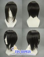Black Butler Sebastian Michaelis cosplay wig costume black colour 015C