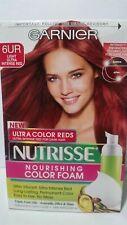 Garnier Nutrisse Nourishing Color Foam 6UR Light Ultra Intense Red (Pack of 3)