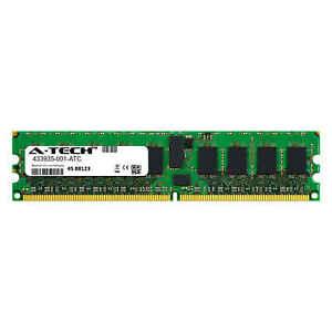 2GB DDR2 PC2-5300E 667MHz ECC UDIMM (HP 433935-001 Equivalent) Server Memory RAM