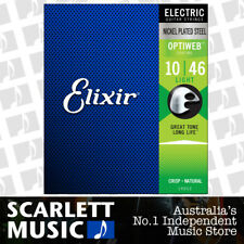 Elixir 19052 Electric Guitar Strings Optiweb Coated Light 10-46 E-OW-L