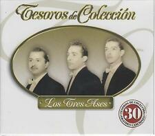 Los Tres Ases CD NEW Tesoros De Coleccion 3 Disc Set 30 Songs!