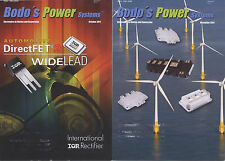 2x Bodo's Power Systems – Electronics in Motion and Conversion 10/2011 + 11/2011