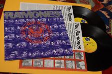RAMONES 2LP ALL THE STUFF 1°ST ORIG GERMAN Y 1990 MINT MAI SUONATI UNPLAYED !!!!