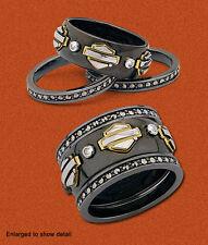 "Ladies Spirit of ""Harley"" Stacking Ring Gold version Franklin Mint  SZ7  D4J8670"