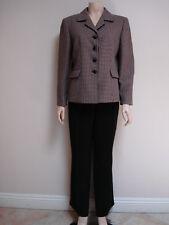 SUIT STUDIO, 2PC Suit, Black/Multi, Size14/14P, NWT$200