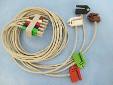 """Lead Set, ECG, Philips AA to 5-Lead Shielded PINCH/Grabber 40""""/61"""" - MLED040C5A"""