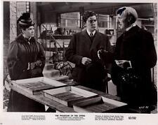 "Herbert Lom, Heather Sears ""The Phantom of the Opera"" 1962 Vintage Movie Still"