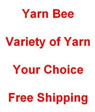 Yarn Bee Yarn Variety Your Choice Free Shipping