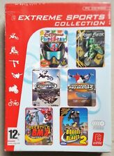 EXTREME SPORTS COLLECTION PC 6 GAME SET TONY HAWK'S, BOARDS & BLADES, BMX new UK