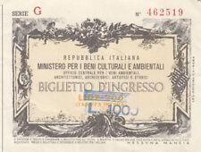 Italien billet d'entrée 200 LIRA (agf2128)