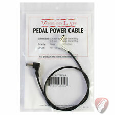 New! Voodoo Lab Pedal Power DC Cable-2.1mm Reverse Polarity (Center Positive) RA