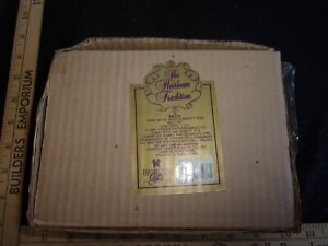 THE HEIRLOOM TRADITION GONE WTH THE WIND SCARLETT TINS 1991 RARE NIB