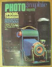 PHOTO PHOTOGRAPHIE NOUVELLE N°63 SEPT 72 FUJICA ST 701 YORGE AMAT P C NIKKOR