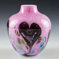 Caithness Cadenza  Vase Designed by Colin Terris 1986