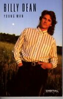Billy Dean Young Man 1990 Cassette Tape Album Classic Country Folk Rock Soft