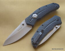 KERSHAW THISTLE BUTTON LOCK FOLDING KNIFE WITH POCKET CLIP