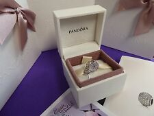 Pandora Orig. NUOVO in Scatola Argento Lucchetto d'Amore Charm 791429CZ
