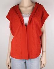 Cotton Blend Vest Machine Washable Solid Coats & Jackets for Women