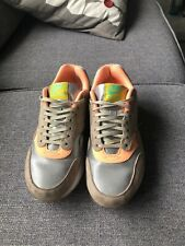 official photos 57943 de4a1 Nike Air Max 1 Beige Orange And Silver Size 6