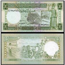 SYRIA 5 LIVRES 1950 UNC Reproduction