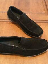 Men's Black Suede Driving Loafers Via Spiga 8.5 M