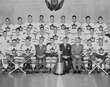 1949 NHL CHAMPIONS Toronto Maple Leafs Glossy 8x10 Photo Stanley Cup Poster