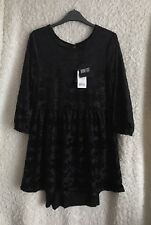 Iron Fist Bat Royalty Dress Size M New With Tags Sold Out Halloween Horror Goth
