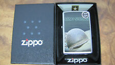 Zippo Lighter - US Army Helmet 28514 - New