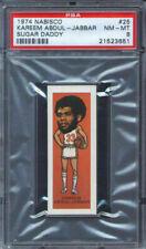 1974 Nabisco Sugar Daddy #25 Kareem Abdul-Jabbar PSA 8 Milwaukee Bucks HOF
