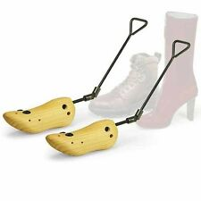 Boot Stretcher Men Mens Wood Shaper Western Cowboy Adjustable Bunions Corns New