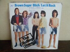 "EP 7"" The Rolling Stones Brown Sugar / Bitch / Let It Rock - VG+/VG+ - RS 19 100"