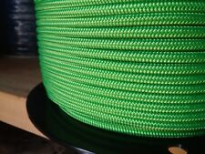 "1/4"" x 200 ft.Premium Polyester Halter Rope.Neon Green"